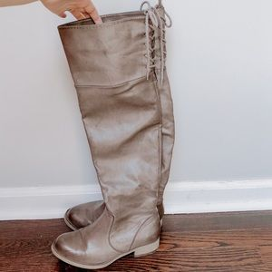 MIA over the knee boot